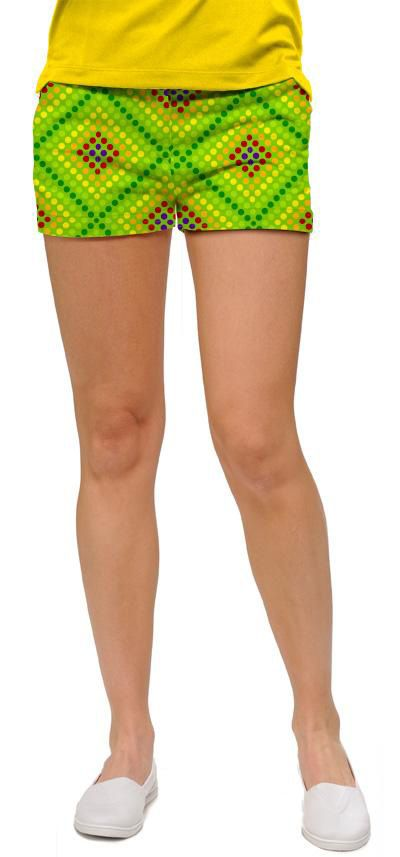 Dot matrix minishorts