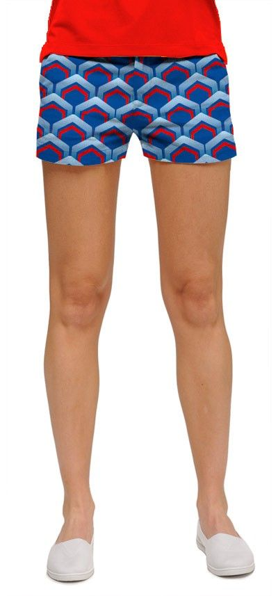 Lounge lizard blue minishorts