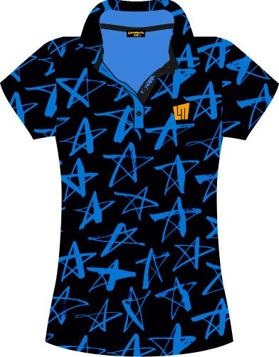 Ladies Bluprint POLO shooting stars