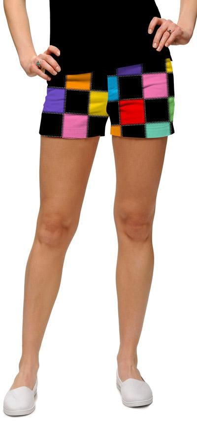 Hollywoody squares minishorts